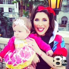 TV Host Susie McAuley as Snow White for the Halloween Show this Sunday Oct 12th 2014 at 11:00 a.m. on Channel 8 WFAA / ABC Network! Meet our winner's of our Happy Baby Contest!