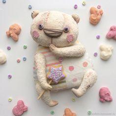 Купить Медвежуть Конфетный Жрушка - бежевый, молочный, тедди, мишка, мишка тедди, тедди мишка
