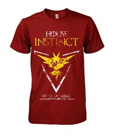Team Instinct - Collector Limited Edition - Game of Thrones & Pokemon GO #TeamInstinct