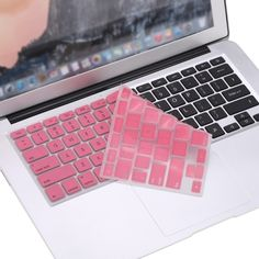 (4.48$)  Watch now  - Silicone Anti-dust Ultra-thin Laptop Keyboard Protective Film Cover Sticker Skin US Layout for MacBook Air 11.6