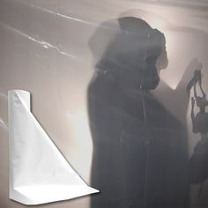Black and White Fire Retardant Plastic Sheeting for Haunted Houses and Halloween Productions