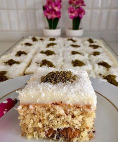 Pasta Tarifleri Pastane 25 Ideas For 2019 Turkish Sweets, Scallop Recipes, Tasty, Yummy Food, Sweet Pastries, Recipe Mix, Banana Recipes, Turkish Recipes, Sweet Recipes