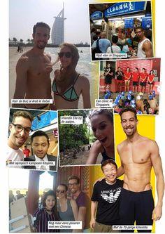 Pieter Timmers verbleef een maand in Azië.