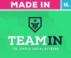 TeamIn's identity is Made in Matter  #branding #CI #brandidentity #matterbranding #matter #Mtr