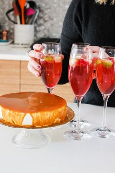 Gather together with family and friends to enjoy cake and cocktails with my tips for easy entertaining at home. You can host your own get-together too!