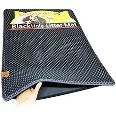 "This looks great!!  Blackhole Cat Litter Mat - Super Size Rectangular 30"" X 23"" (Dark Gray)"