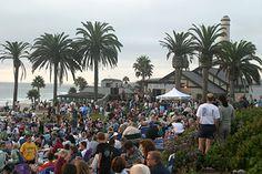 Seagrove Park Del Mar, California...Summer Twilight Concerts