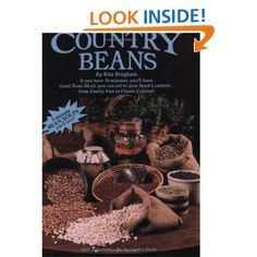 Country Beans Cookbook. Also teaches you the ins and outs of dry beans and bean flours (which you can make in a grain mill).