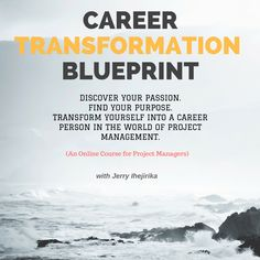 If the year 2016 is the year you have decided to quit your 9-to-5 job and/or transform yourself into a freelance project manager, a part-time project manager or an independent career person in the world of project management, then I have a great course for YOU.