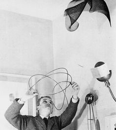 jonasgrossmann: bruno munari in his studio
