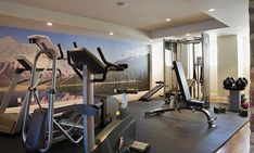 A home gym can be the perfect way to work out without spending time away from the family.