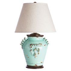 I pinned this Vineyard Table Lamp in Aqua from the Garden Rustics event at Joss and Main!