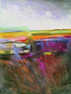 CAROLE ENGLES - Lavender Field