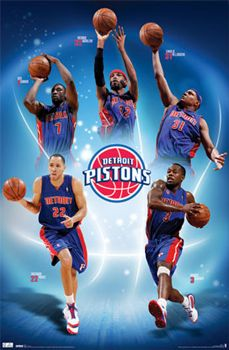Detroit Pistons Five Stars (2011) - Costacos Sports