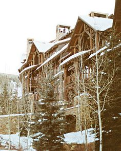 Ritz-Carlton, Beaver Creek CO my favorite place on earth    If I could have my weedding here I would die!