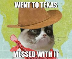 Went to Texas