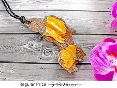 30% OFF SUMMER SALE/Leaf Necklace gold forest jewelry por FamDdaear
