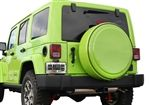 Boomerang Jeep Wrangler Pre-Painted Tire Cover and Ring - AutoTruckToys.com