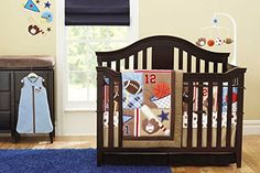 New Circo 8Pieces Baby Boy Sport Crib Bedding Set F.C.L http://www.amazon.com/dp/B00X3H1EFC/ref=cm_sw_r_pi_dp_49IDvb1Y58KSN
