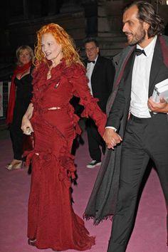 Vivienne Westwood and her husband Andreas Kronthaler.