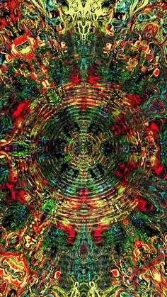 Hipster Wallpaper, Trippy Wallpaper, Skull Wallpaper, Neon Wallpaper, Cool Optical Illusions, Art Optical, Trippy Visuals, Psychadelic Art, Illusion Art