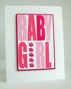 CT0812 - Baby Girl by Ardyth - Cards and Paper Crafts at Splitcoaststampers