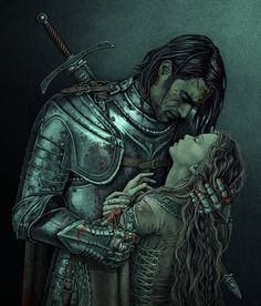 """Sansa Stark and Sandor """"The Hound"""" Clegane are the greatest of ships and far…"""