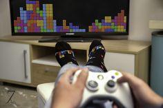 #tetris #socks #sock-ing Socks, Electronics, Games, Sock, Gaming, Stockings, Ankle Socks, Plays, Consumer Electronics