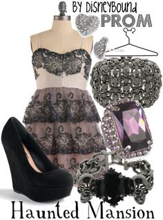 What I would wear to DisneyBound Prom if I wasn't 23. :D