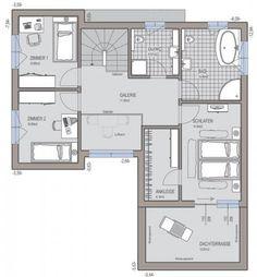 Bauhaus 174 - Grundriss Obergeschoss