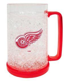 ~Detroit Red Wings Crystal Freezer Mug - Boelter~ backorder