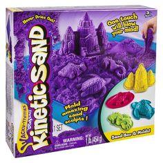 Wacky-tivities - Kinetic Sand - Sandbox & Molds (Colors May Vary)