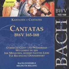 Rilling Helmuth - Bach:Cantatas 165-168 Vol. 50