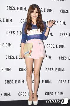 Sunny at Cress E Dim fashion event