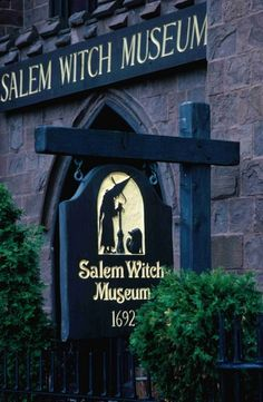 Salem Witch Museum; Salem, Massachusetts.  Looks amazing.  People say you can feel the history in the air!
