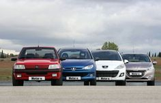205, 206, 207 y 208 #dadriver #Peugeot #P205 #P206 #P207 #P208 @PeugeotES