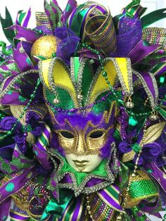 One of my favorite Mardi Gras masks