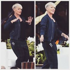 P!nk perform new song Today's the day live  (Ellen in NYC) 2015