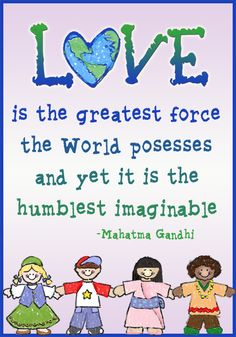 #Smiletoday Love is the greatest force the world possesses... made by Abby S.