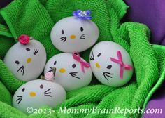 DIY: Hello Kitty-esque Easter Eggs