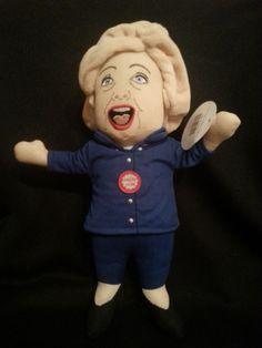 Lying Hillary Doll Stuffed Talking