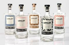 Packaging of the World: Creative Package Design Archive and Gallery: LOVEJOY VODKA