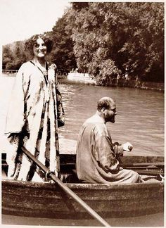 Gustav Klimt y Emile Flöge