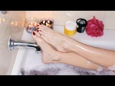 ♡ Spa Day With Sarah ♡ Get Clear Soft Skin and Relax! - YouTube