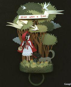 a Desire to Inspire: Elsa Mora Paper Art