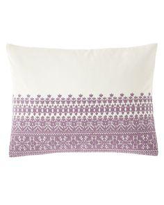 Melisent Decorative Pillow by Ralph Lauren Home at Neiman Marcus Purple Home Decor, Purple Bedding, Twin Comforter, Ticking Stripe, Bath Linens, Cotton Linen, Decorative Pillows, Bed Pillows, Ralph Lauren