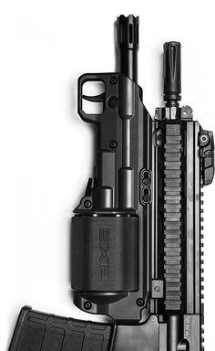 Six shot rotary 12 gauge.