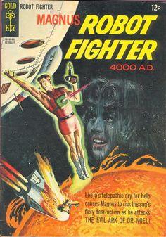 COMIC magnus robot fighter 13 #comic #cover #Art