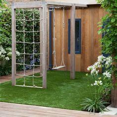 small contemporary garden