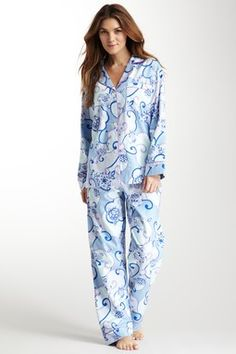 Abbey Road Flannel Pajama Set